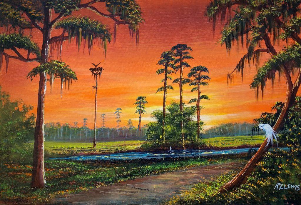 Florida Everglades - R. L. Lewis