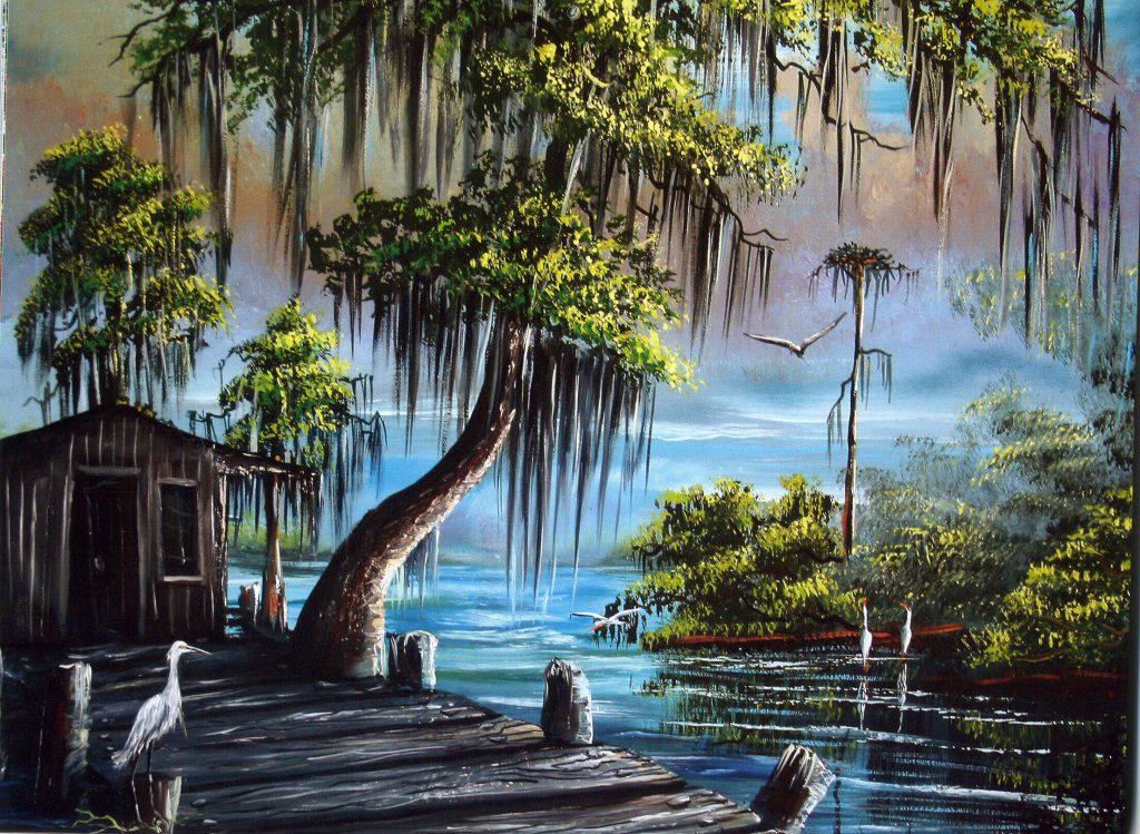 Manchac Swamp - R.L. Lewis