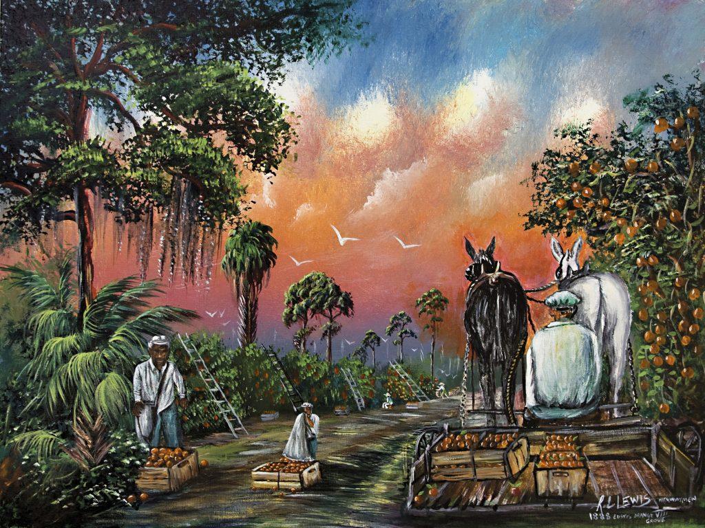 The Orange Grove - R.L. Lews