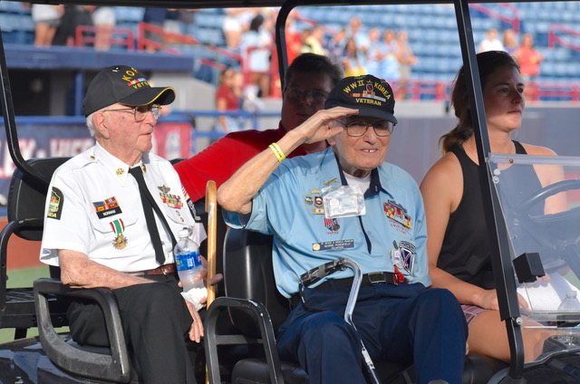 Brevard Responds:  The Story of Helping One Military Family and Honoring the Greatest Generation on One Night
